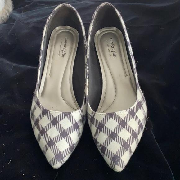 Houndstooth 9.5 heels